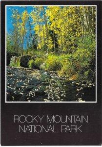 US Colorado. Glacier Creek.  Mint Card. Beautiful Colorado.
