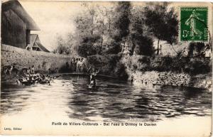 CPA Foret de VILLERS-COTTERETS Bat l'eau a ormoy (159078)