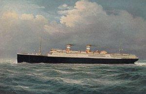 Ocean Liner S.S. CONTE GRANDE , Italia Line , 20-30s ; Version-2