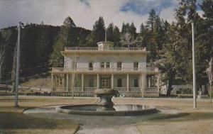 Nevada Virginia City Bowers Mansion