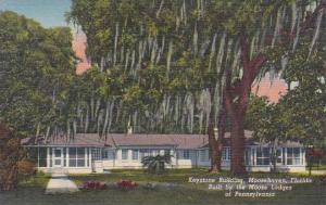 Florida Moosehaven Keystone Building Built By The Moose Lodges Of Pennsylvania