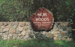 California Muir National Monument Entrance Sign