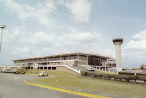 DOMINICAN REPUBLIC ,  1950-70s ; International Airports , Santo Domingo