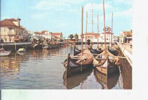 Postal 014398: Canal central de Aveiro, Portugal