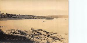 MANSET,  MAINE VIEW OF MANSET FROM STANLEY HOUSE RPPC REAL PHOTO POSTCARD