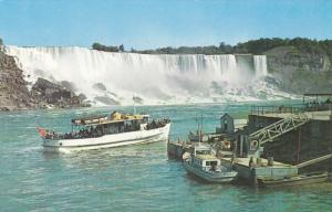 Maid of the Mist, Boat, NIAGARA FALLS, Ontario, Canada, 40-60´