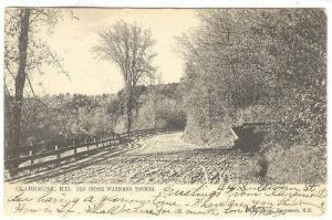 Old Stone Watering Trough, Claremont, New Hampshire, PU-1904
