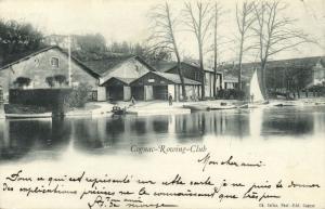 france, COGNAC, Rowing Club (1898) Stamp