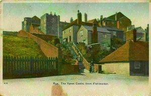 Rye The Ypres Castle from Fishmarket Postcard