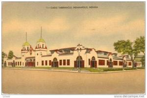 Indiana, Indianapolis, Cadle Tabernacle / Church pu 1946