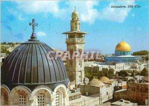 Postcard Modern Jerusalem Old City