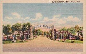 Blue Hole Entrance Castalia Ohio