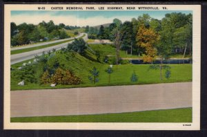 Carter Memorial Park,Lee Highway,Near Wytheville,VA