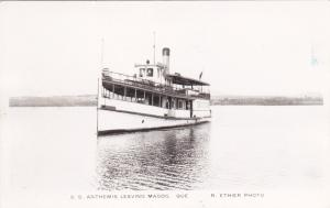 RP: MAGOG , Quebec, Canada , 1910-20s ; Steamship S.S. ANTHEMIS