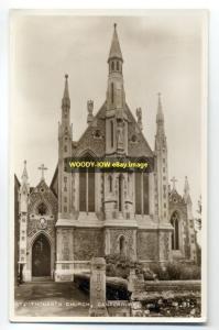 cu0146 - St Thomas's Church , Canterbury , Kent - postcard