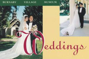 Weddings at Burnaby Village Museum , B.C. , Canada ,  60-80s