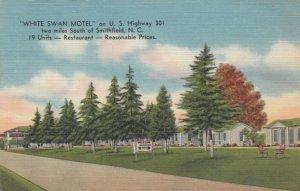 SMITHFIELD , NC, 30-40s ; White Swan motel