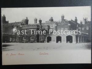 c1903 - St. James Palace, LONDON, Undivided Back