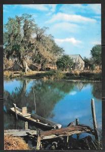 Louisiana, Along the Bayou, unused.