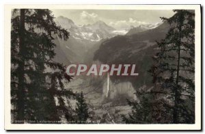 Postcard Old Das aus Lauterbrunnen Wengen