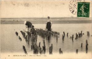 CPA BERCK PLAGE Parc aux Moules (414151)