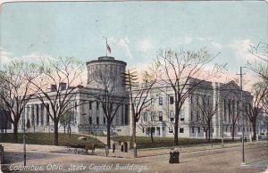 Ohio Columbus State Capitol Buildings 1908
