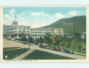 W-Border HOTEL SCENE White Mountains New Hampshire NH B4398