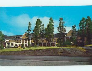 Unused Pre-1980 LAKE HOTEL Yellowstone National Park Wyoming WY Q3944-22