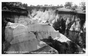 Cuthbert Georgia Providence Canyon Real Photo Antique Postcard K33730