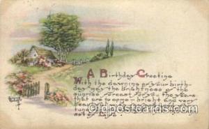 Artist Signed Kathryn Elliott Postcard Postcards 1911