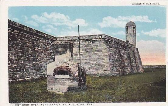 Florida Saint Augustine  Hot Shot Oven Fort Marion