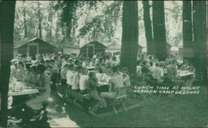 Mount Hermon CA Summer Conference Camp Postcard