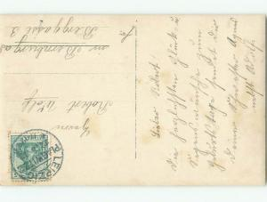 old rppc NICE VIEW Postmarked Leipzig - Saxony Germany i3343