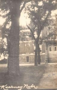 Kearney Nebraska Courthouse Real Photo Antique Postcard J44538