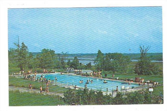Swimming Pool - Campsite, Blue Haven Park Inc., New York, 40 ...