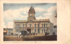 South Africa Town Hall, Port Elizabeth W.B.P. Series, Cape Town