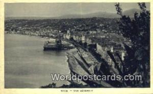 Nice, France, Carte, Postcard Vue Generale  Vue Generale