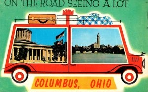 Ohio Columbus On The Road Seeing A Lot 1964