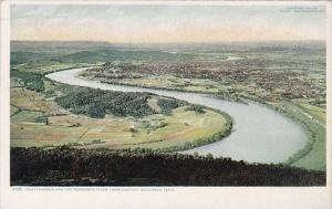 Chattanooga And The Tennessee River From Lookout Mountain Tennessee Detroit P...