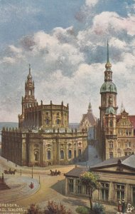 DRESDEN , Germany , 00-10s : Roman Catholic Court Church ; TUCK 7093