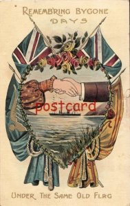 1908 Britian Remember Bygone Days - Under the Same Old Flag, to Herbricht, UK