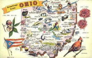 Greetings from, Ohio Postcard      ;      Greetings from, OH Post Card Greeti...