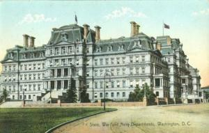State, War & Navy Departments, Washington D.C. early 1900...