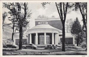 Kirby Memorial Theatre , Amherst College , AMHERST , Massachusetts , 1930s