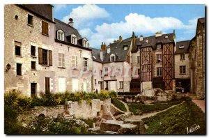Postcard Modern Wonders Du Val De Loire Tours Old Tours Garden St. Pierre