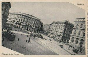 NAPOLI , Italy , 1910s ; Piazza della Borsa