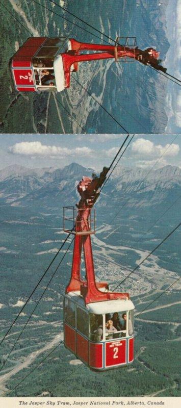 JASPER , Alberta , 1950-70s ; Sky Tram