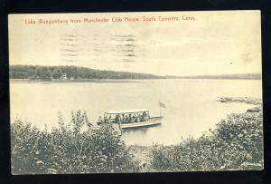 South Coventry Connecticut/CT/Conn Postcard, Manchester Club House, 1908!