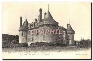 Old Postcard Chateau de Mailloc XVII th Century