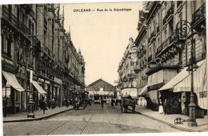 CPA ORLÉANS-Rue de la Republique (264798)